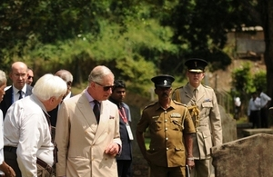 HRH the Prince of Wales visited Kandy in last November, during his visit to Sri Lanka for CHOGM.