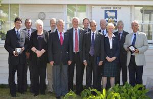 Uruguayan parlamentarians meet with Falklands MPs