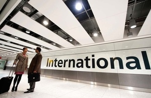 3月12日起使用英國簽證申請中心將收取服務費