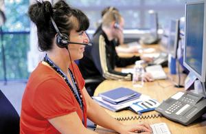 Contact Centre advisor
