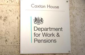 DWP logo - Caxton House