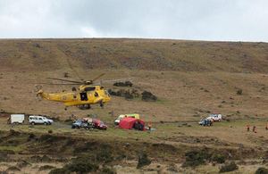 Exercise Indigo on Dartmoor Training Area [Picture: Crown copyright]