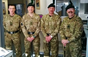 British Serviceman to take part in 35th independece celebrations