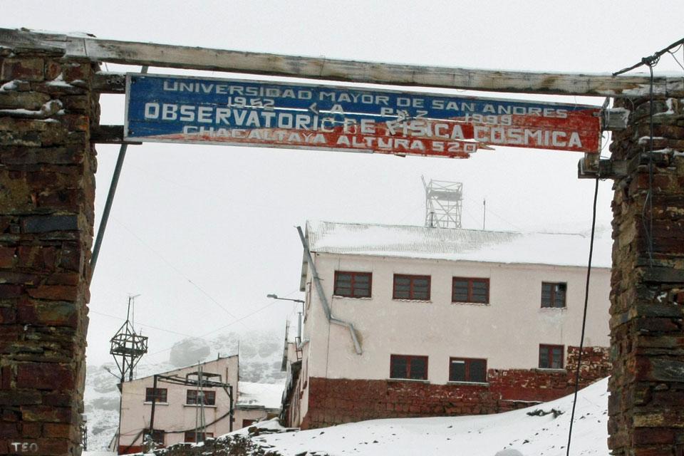 Observatorio de Física Cósmica en Chacaltaya