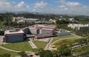 Vista panorâmica da Universidade Federal de Minas Gerais