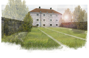 Artist's impression of the finished Adam Smith Centre