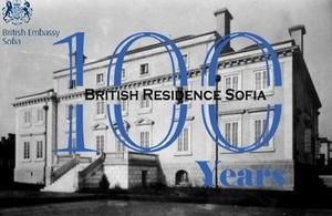 100 Years British Ambassador's Residence in Bulgaria