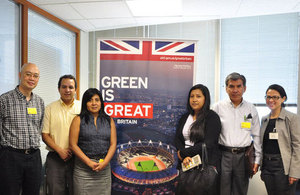 British team of PHD researchers from the Centre for Low Carbon Futures joined researchers from the Universidad Agraria and Universidad Católica
