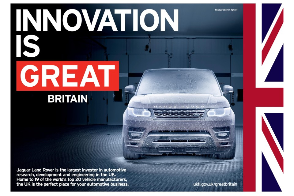 11 major vehicle manufacturers have operations in the UK