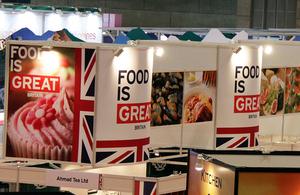 FOODEX JAPAN 2013の英国パビリオン
