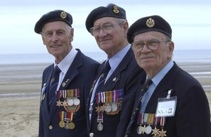 RAF veterans pictured in Normandy (library image) [Picture: Jack Pritchard, Crown copyright]