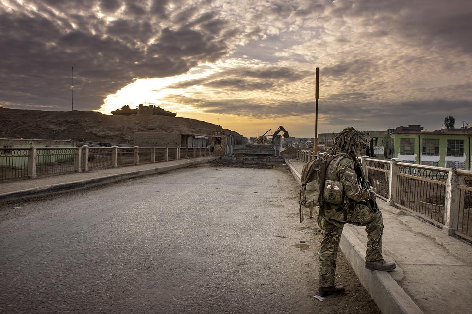 The bridge near Gereshk in central Helmand