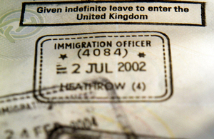Changes are being made to how you apply for a visa outside the UK