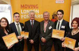 Lord Deighton at Crossrail awards