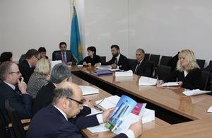UK Trade Mission visiting Kazakhstan