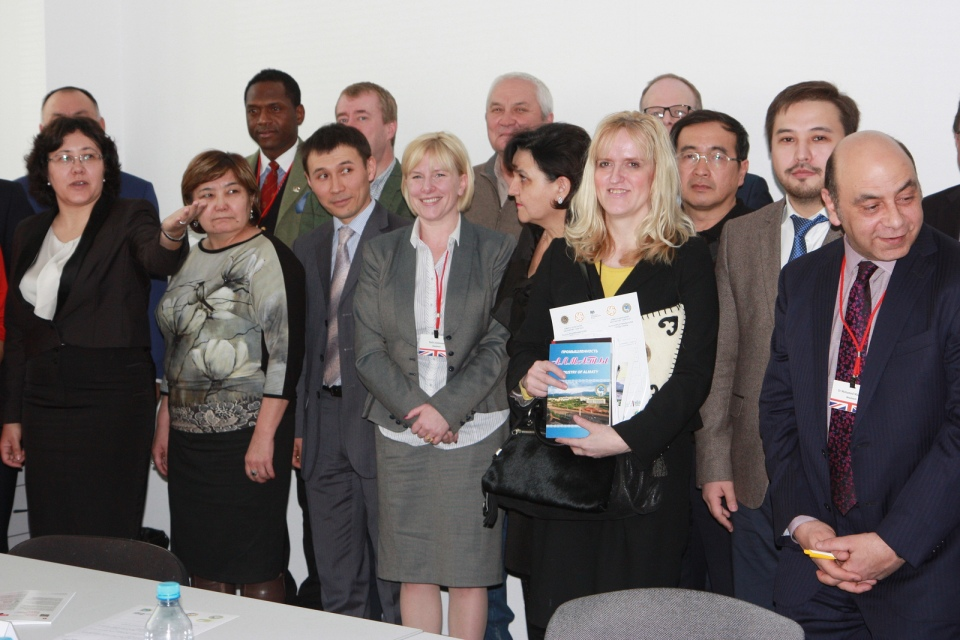Roundtable at the National Chamber of Entrepreneurs, Almaty