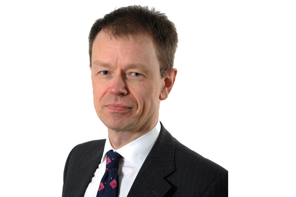 HM Passport Office Chief Executive Paul Pugh