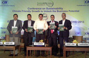 Conference on sustainability - climate friendly growth to unlock business potential