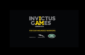 The Invictus Games are a brand new international sporting event for wounded, injured and sick service personnel from around the world