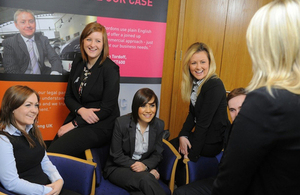 Apprentices at Gordons law firm