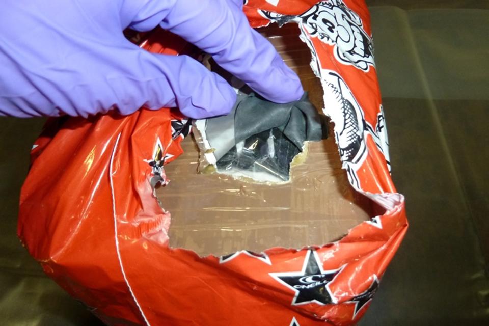 Drugs in carrier bags