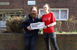 Barry and Becky of GoodGym