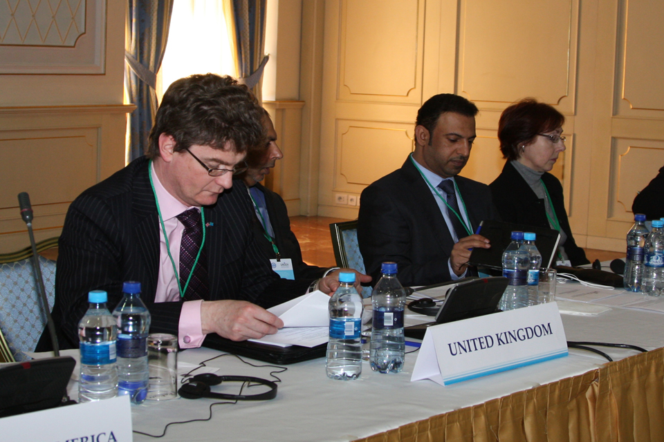 UNSCR 1540 Conference, Astana, Kazakhstan 11 March