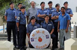 HMS QUORN Cemetery Volunteering