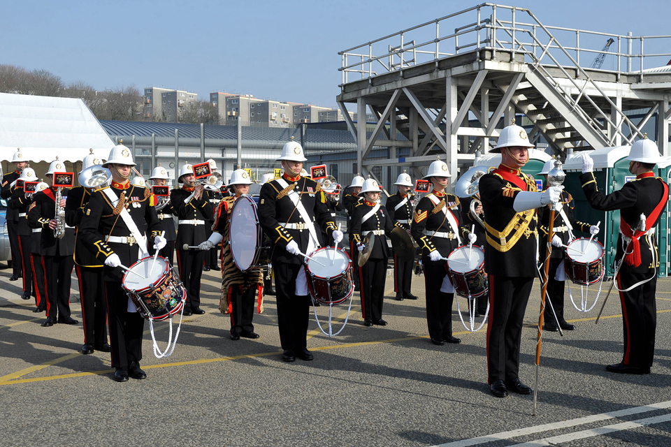 The Band of Her Majesty's Royal Marines Plymouth