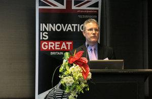 John Davies Director, Technology Partnerships & Global Strategy and Technology Adviser, UKTI