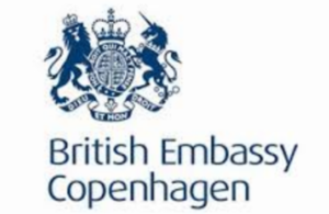 UK embassy in Denmark logo