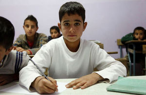 Syrian child back in school Lebanon