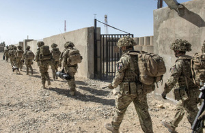 Soldiers of 2nd Battalion The Royal Anglian Regiment were the last UK forces to be based at MOB Lashkar Gah