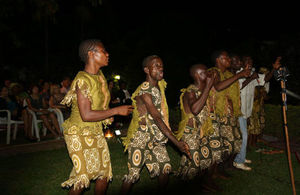 Global Music Exchange Group and the Baka dancers