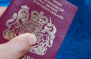 Passport fees for British nationals overseas reduced by 35%