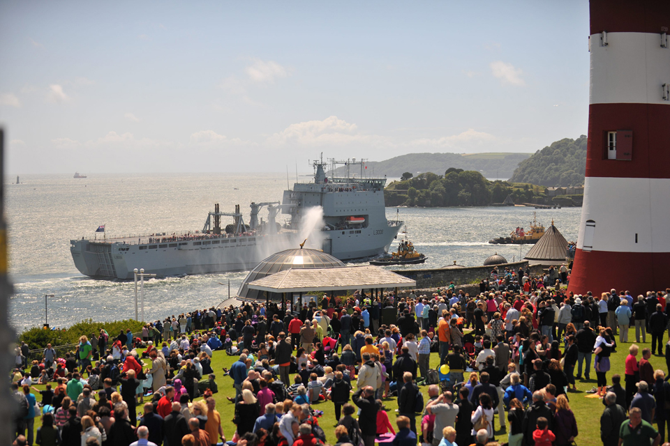 Armed Forces Day national event in Plymouth
