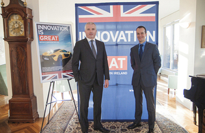 Dr Geoff McGrath and Consul General Danny Lopez
