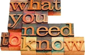 What you need to know signpost