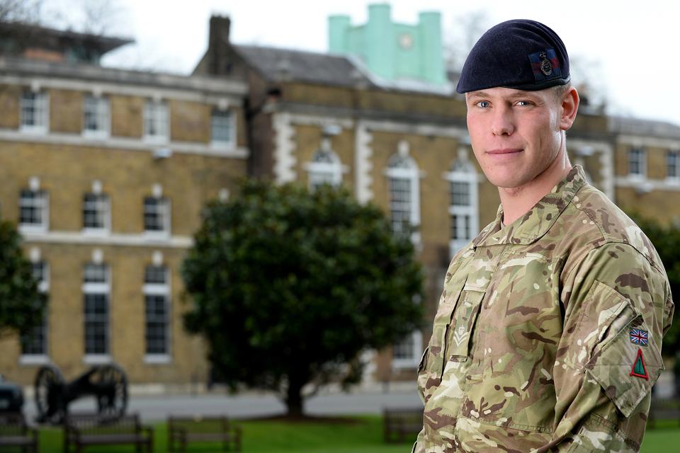 Lance Corporal Simon Moloney