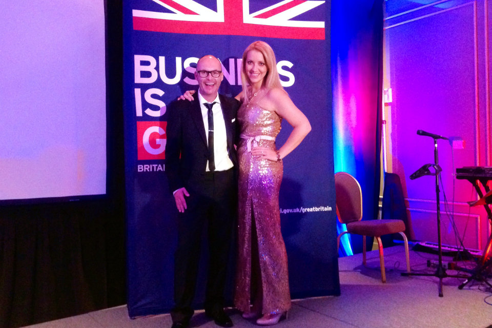 UKTI Head of Southeast US Rebecca Mowat and British Consul General Kevin McGurgan