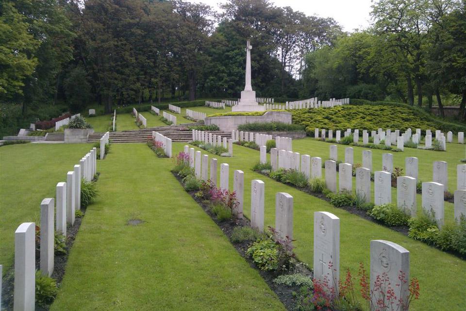Poznan Old Garrison Cemetery, Poland