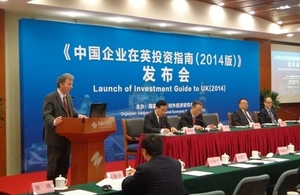 UK welcomes new guide to investing in Britain produced by China's NDRC think-tank