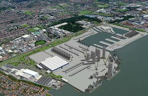 シーメンスが大規模洋上風力生産・組立施設を英国に建設