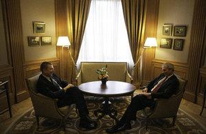 Minister Lidington and Minister Rinkevics