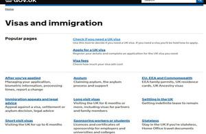 Change to UK Visa Applications in Spain