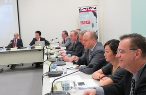 UK experts visit Taipei to share experience in sports infrastructure and consultancy services