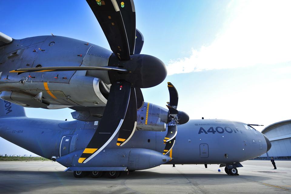 An A400M Atlas aircraft