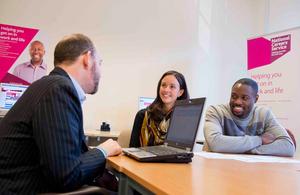 National Careers Service advisor providing advice