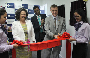 New UK visa application centre in Phnom Penh officially opens