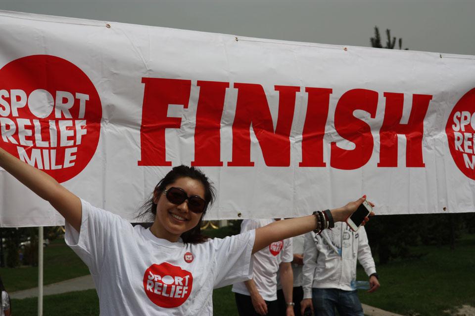 Sport Relief 2012 Kazakhstan